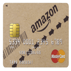 Amazonポイントがたまる!クレジットカードはAmazon Mastercardがお得