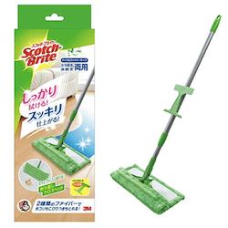 【おすすめ掃除グッズ】掃除嫌いのわたしが選んだ超便利な床掃除用モップ