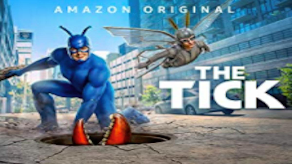 『ティック』シーズン2あらすじ・ネタバレ・キャスト・評価(ティックとアーサーがヒーロー管理機関に入隊!プライムビデオ)